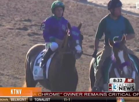 News video: California Chrome Co-Owner Stands By Post-Race Comments